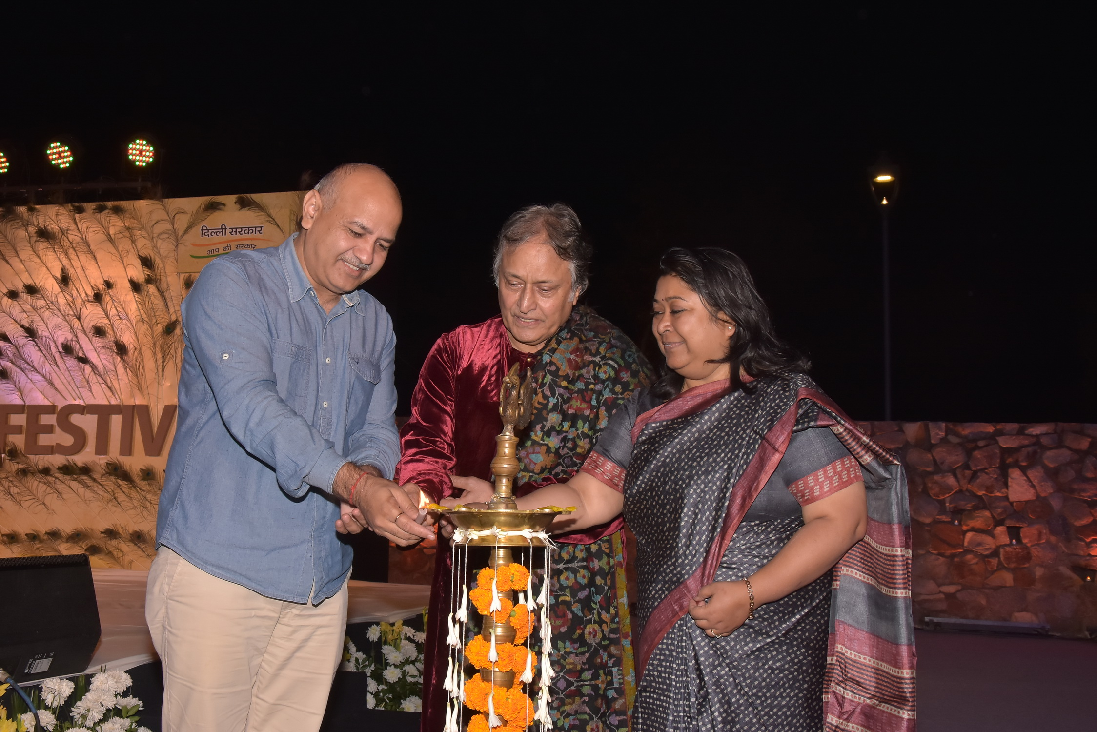 DELHI CLASSICAL MUSIC FESTIVAL CELEBRATED THE LAST DAY WITH SUR AND TAAL