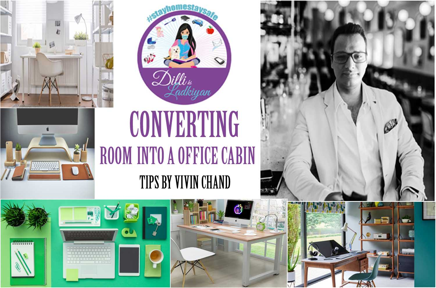 CONVERSION OF HOME INTO OFFICE BY VIVIN CHAND